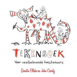 Uitgeverij de Fontein kinderboeken Tekenboek voor veelbelovende kunstenaars