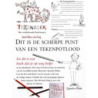 Uitgeverij de Fontein kinderboeken Tekenboek voor veelbelovende tekenkunstenaars