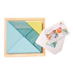 Grimms houten speelgoed Creatieve set tangram