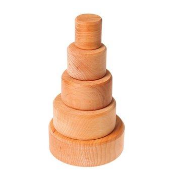 Grimms Stapelbakjes van hout naturel
