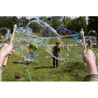 BubbleLab bellenblaasspeelgoed BubbleLab zeepbellen basis voor urenlang speelplezier