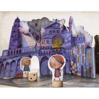 Marbushka fairtrade spellen Gezelschapsspel Christmas Tale is magie in de winter