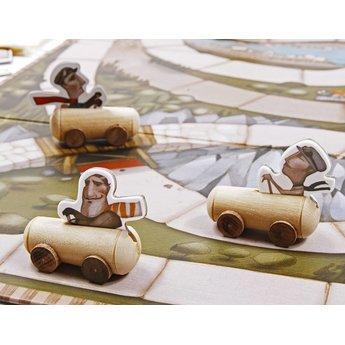 Marbushka fairtrade spellen Grand Prix - een race van weleer