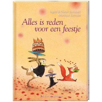De Vier Windstreken Prentenboek Alles is reden voor een feestje