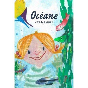 Talismanneke rouwverwerking Océane en haar visjes personaliseerbaar prentenboekje
