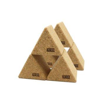 KORXX Grote kurk blokken driehoek
