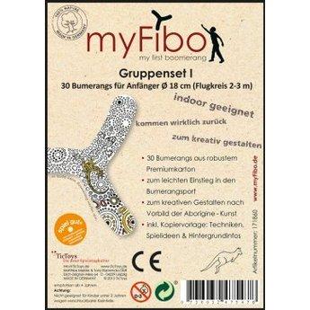 TicToys ecologisch beweegspeelgoed MyFibo - groepsbox 30 stuks