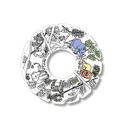 TicToys ecologisch beweegspeelgoed MyRoodi, een frisbee voor in huis