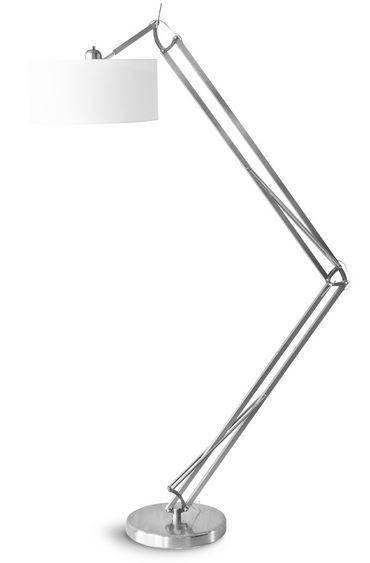 its about romi milano vloerlamp nikkel. Black Bedroom Furniture Sets. Home Design Ideas
