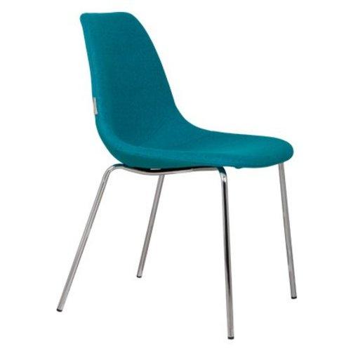 Zuiver stoel fifteen up blauw for Zuiver stoelen