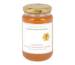 Nijmeegse honing van imker Arnd