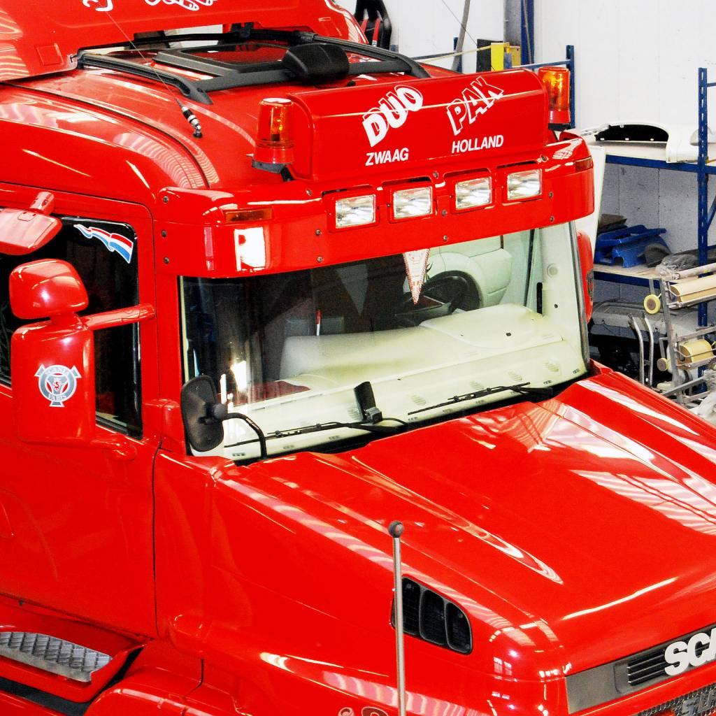 Zonneklep type 1-C voor Scania 4-serie Highline