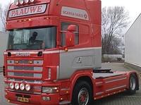 Zonneklep type 1-A voor Scania 4-serie met Topline cabine
