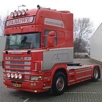 Zonneklep type 1-A voor Scania 4-serie