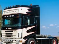 Zonneklep type 3-C voor Scania 4-serie met Topline cabine