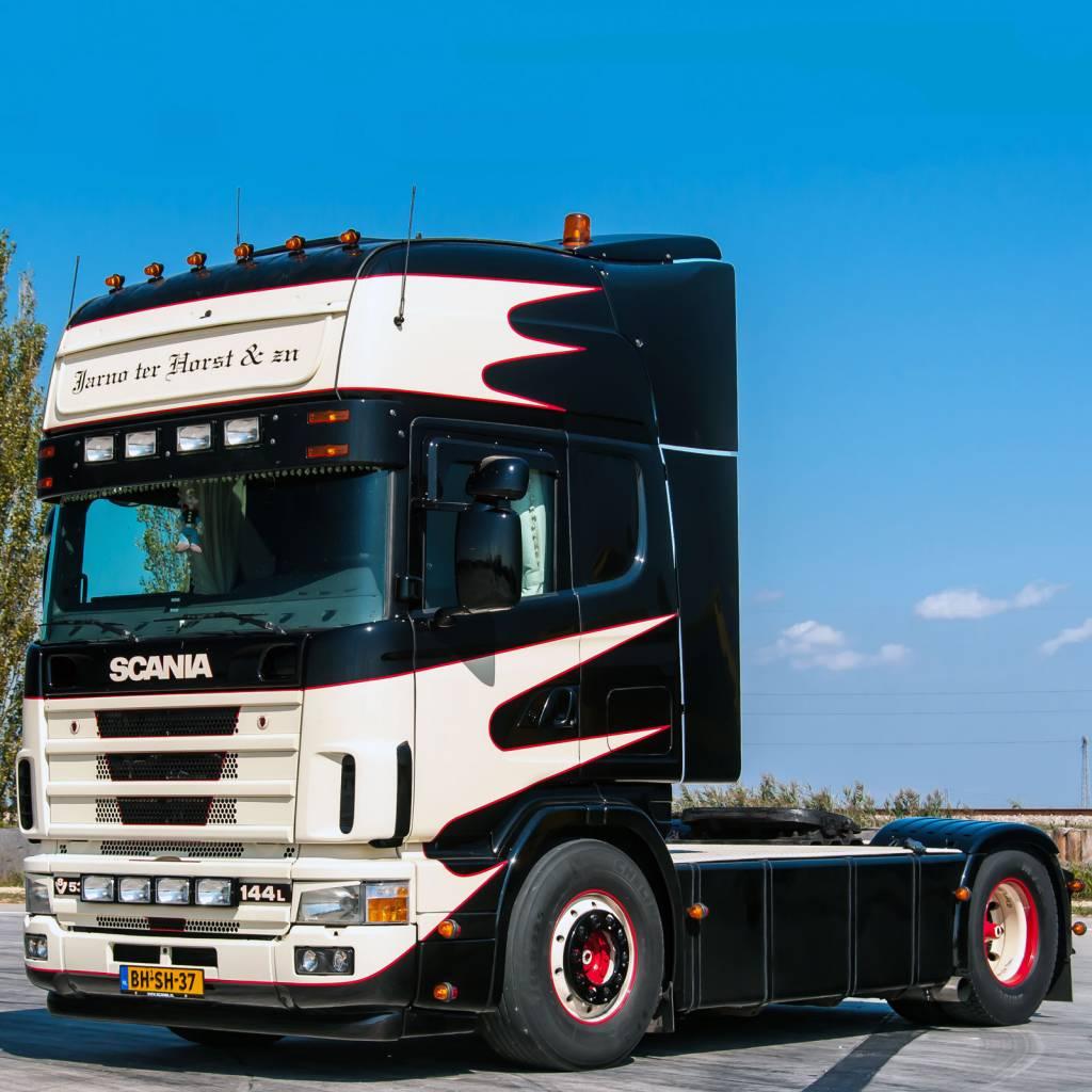 Zonneklep Type 3 C Voor Scania 4 Serie Met Topline Cabine