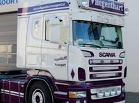 Zonneklep type 1-A voor Scania R-serie met Highline cabine