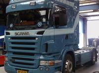 Zonneklep type 1-B voor Scania R-serie met Highline cabine