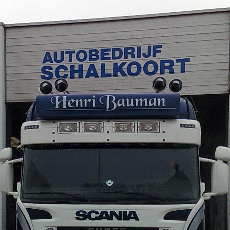 Zonneklep type 1-C voor Scania R-serie met Highline cabine