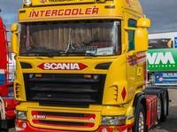 Zonneklep type 2-A voor Scania R-serie met Highline cabine