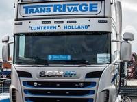 Zonneklep type 2-D voor Scania R-serie met Topline cabine