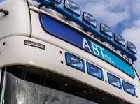 Zonneklep type 2-C voor Scania R-serie met Topline cabine