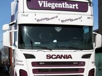 Zonneklep type 2-A voor Scania R-serie met Topline cabine