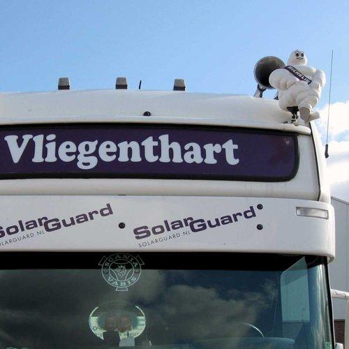 Zonneklep type 2-A voor Scania R-serie