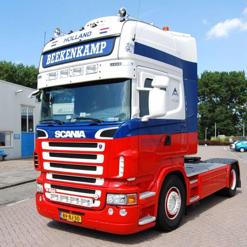Zonneklep type 1-C voor Scania R-serie met Topline cabine