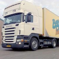 Zonneklep type 1-B voor Scania R-serie