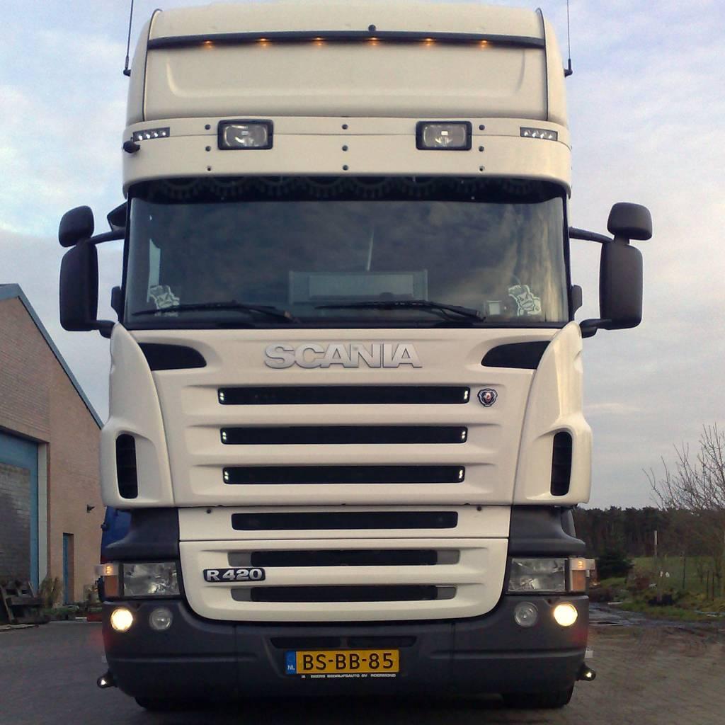 Zonneklep type 1-B voor Scania R-serie met Topline cabine