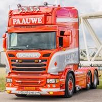 Scania Streamline zonneklep type 2D met lijn