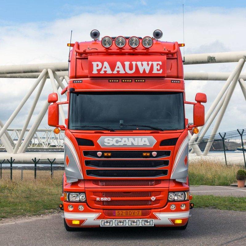 Scania Streamline Topline zonneklep type 2D met lijn