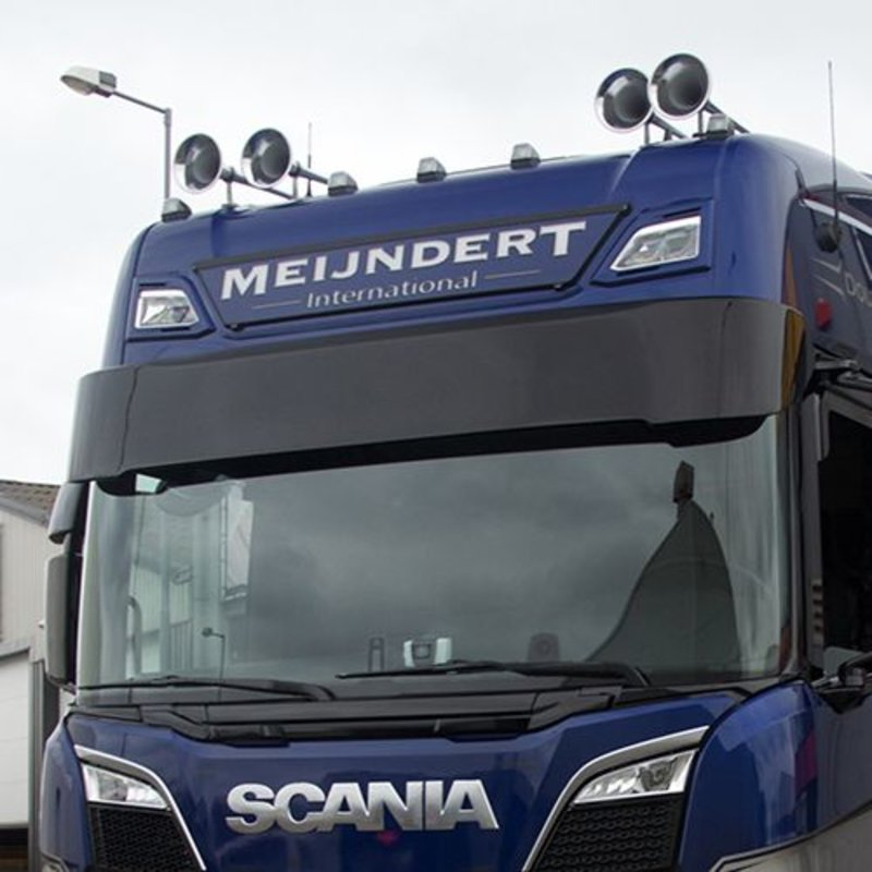 Zonneklep type 2 voor Scania Next Generation