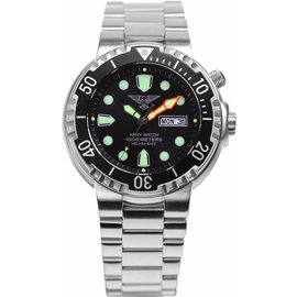 Professional diving watch to 1000 meters / 100 atm / EP840