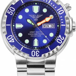 Army Watch Professional Diver 1000 Blue