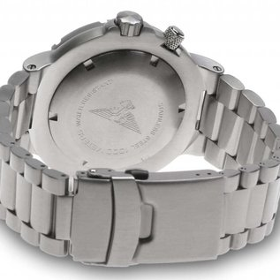 Army Watch Professional diver's watch to 1000 Meter/100ATM, Silver