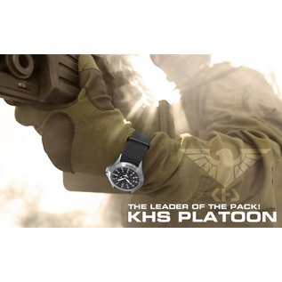 KHS Tactical Watches Platoon H3 Steel Automatik - Natoband