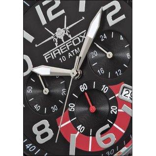 Firefox Watches  High-grade steel FIREFOX SKYDIVER chronograph FFS20-102A black