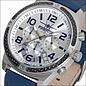 Firefox Watches  Skydiver Edelstahl Chronograph - silber / blau, FFS20-104