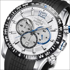 Firefox Watches  GADGET High-grade Stainless Steel Chronograph FFS190 -106 silver gray.