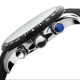 Firefox Watches  GADGET Edelstahl Chronograph FFS190-106 silbergrau
