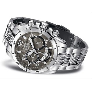Firefox Watches  FIREFOX SKYWALKER Stainless Steel Chronograph / lava-grey