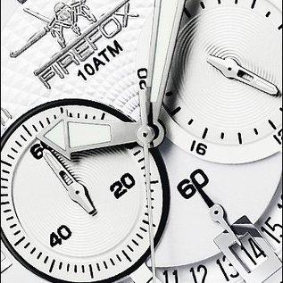 Firefox Watches  SKYWALKER Edelstahl Chronograph FFS220-101 silberweiß