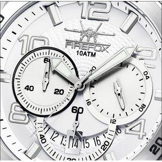 Firefox Watches  FIREFOX SKYWALKER Stainless Steel Chronograph / silver-white / FFS220-101