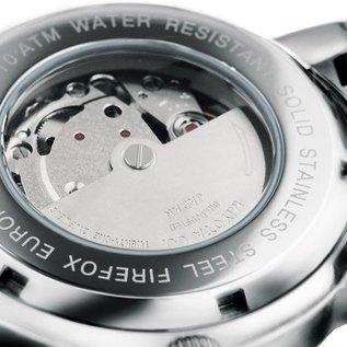 Firefox Watches  Automatik Herrenuhr Kaliber 8205 / weiß