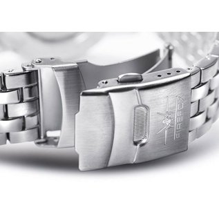 Firefox Watches  ZION Stainless Steel Chronograph 10 ATM / gelb FFS17-109b