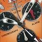 Firefox Watches  Aluminum Chronograph MANDARINE / 10 ATM