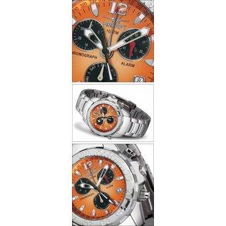Firefox Watches  Aluminium Chronograph , Zifferblatt MANDARINE 10 ATM | FFA02-125