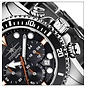 Firefox Watches  Firefox Mens Watch ABS Stainless Steel Chronograph, 100 meters / FFS235 -102 black
